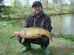 19lbs carp on meat balls (stephen yapp)  23rd april 08